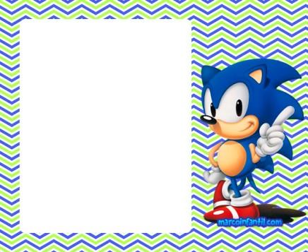 Marcos De Sonic Marcos Infantiles