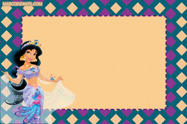 Aladdin-marcos-tarjetas-invitaciones-Princesa-Jasmin.