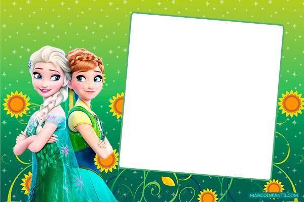 Anna y Elsa Frozen 2