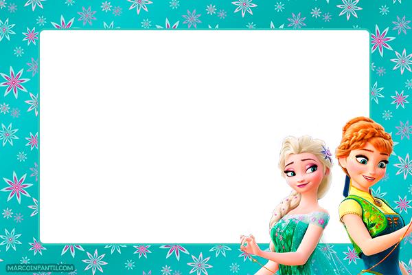 Frozen Fever tarjetas invitaciones