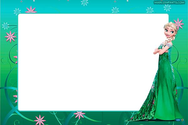 Frozen Tarjetas Invitaciones
