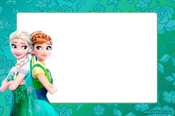 Tarjetas Frozen 2 Anna y Elsa
