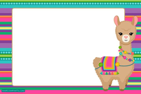 Tarjetas de Llamas Invitaciones