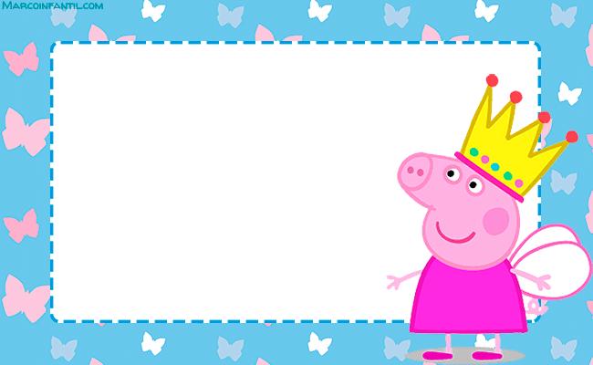 Peppa Pig convites