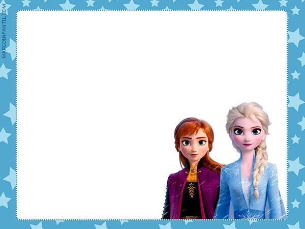 Elsa & Anna Frozen II Invitations
