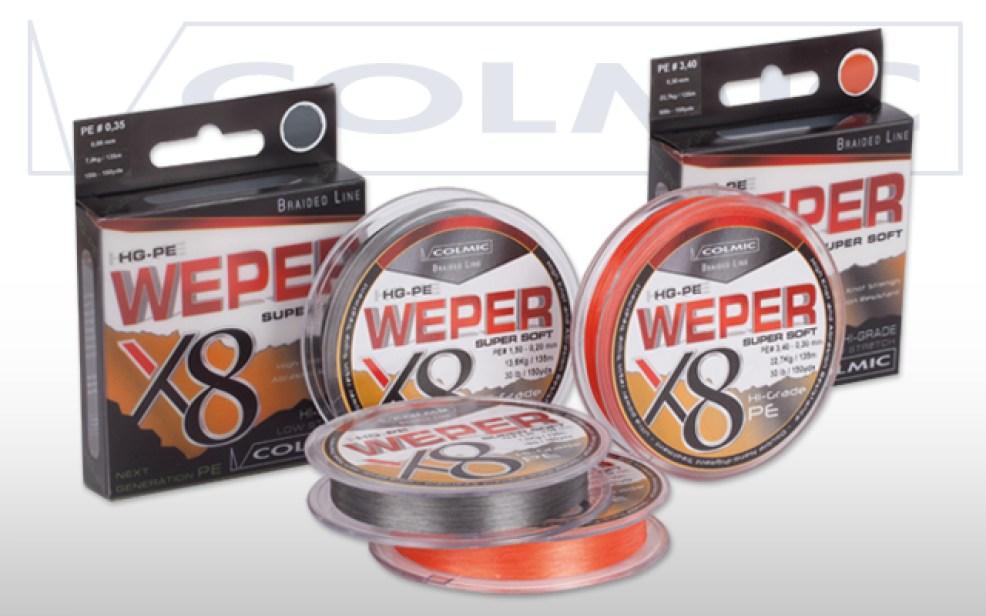 Weper X8 rappresenta la massima espressione nel campo dei trecciati