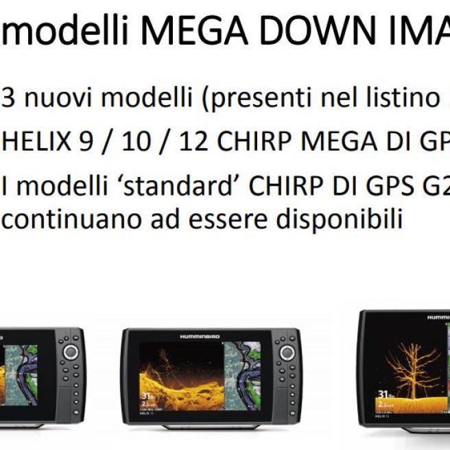 modelli mega down vision humminbird