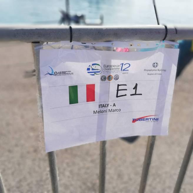 Postazione di gara Europeo canna da riva