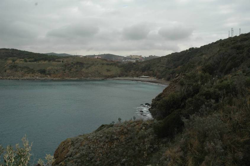 Il Golfo di Calamoresca visto da punta Falcone