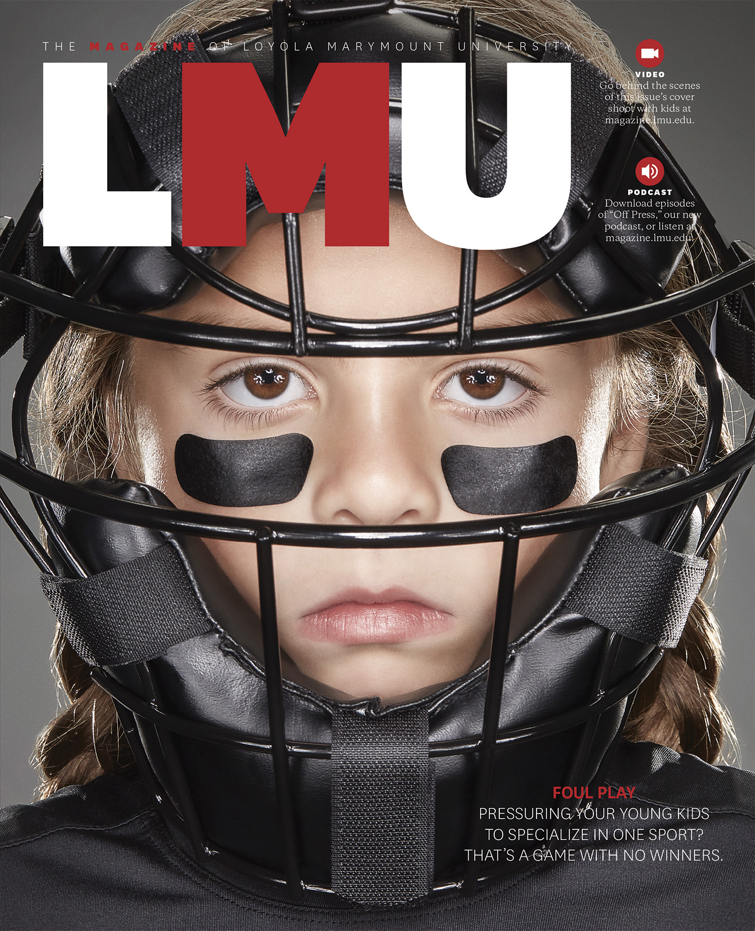 LMU Magazine cover for Winter 2017