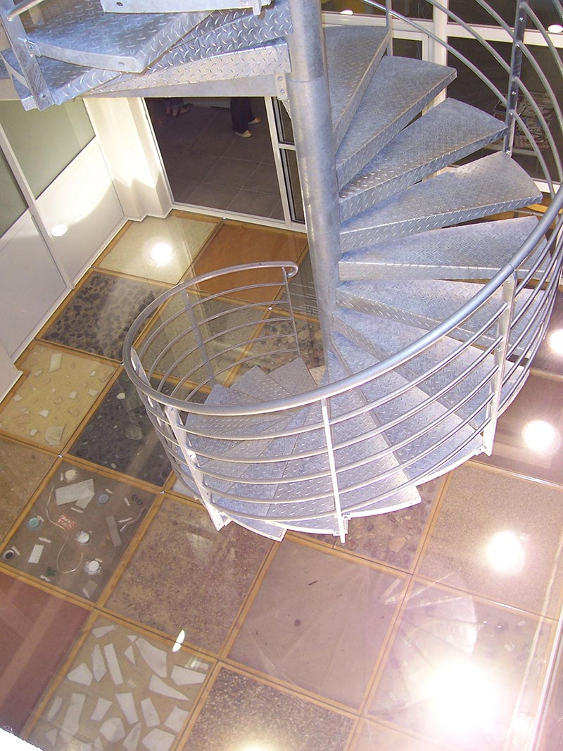 Escalier Metal Galva Escalier Acier Galvanise Exterieur Escalier D