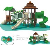 CE-certificate-galvanized-steel-LLDPE-wood-series-Outdoor-playground-Equipment