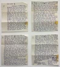 1966, Tokyo, brief aan Willy (zijn vrouw)