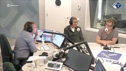 Samen met Henk Hofstede praten over The Record Man in De Nieuws BV