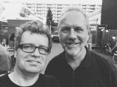 met zanger/gitarist Hans Croon