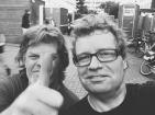 met drummer Bob Schimscheimer