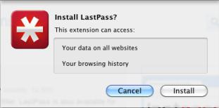 Install lastPass on Google Chrome