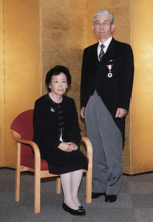 Padre y madre en la condecoración 2