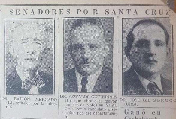 Senador por Santa Cruz 2