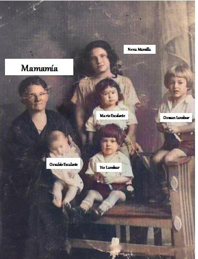 Mamamía Clara y nietos