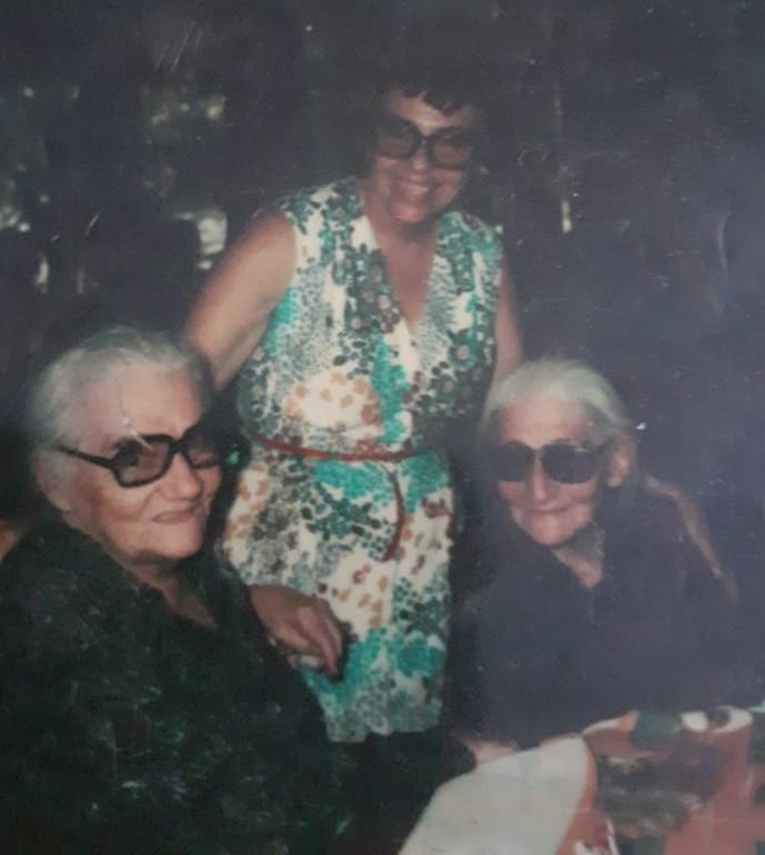 Pastora, Maria Elba y Asunta