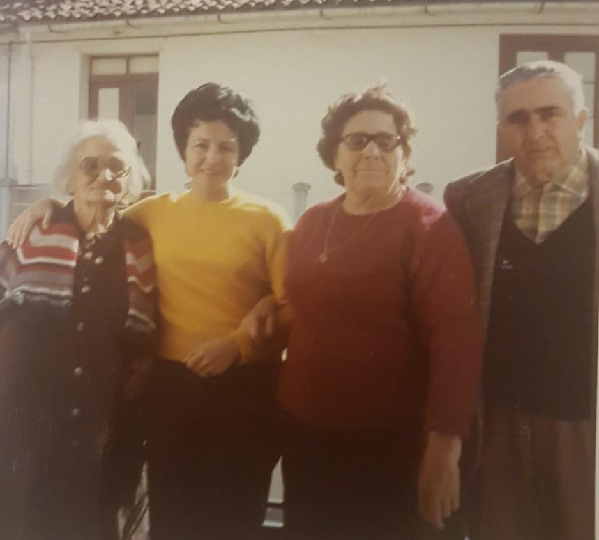 Agnese, Anita, Rosa y Rafael