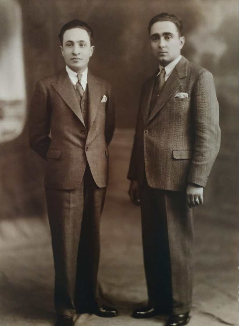 Raffaele y Francisco