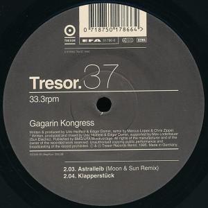 12-Inch Vinyl Gagarin Kongress Astralleib (1995)