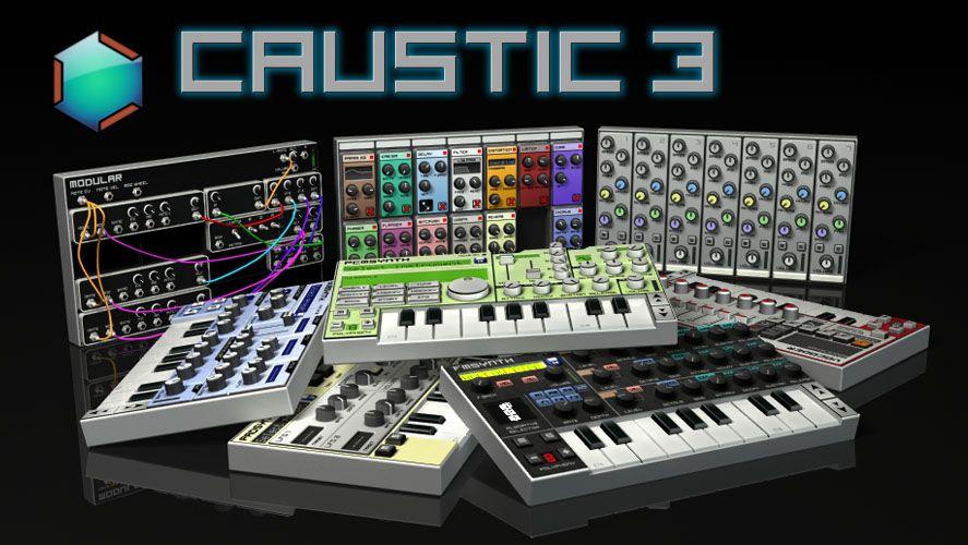 caustic app produccion musical