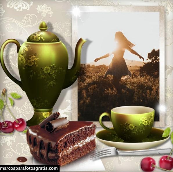 marcos fotos tazas de café