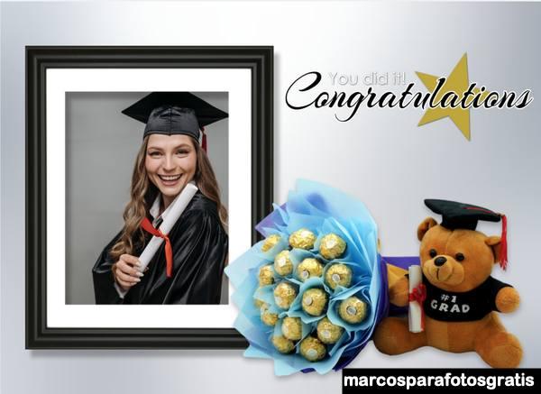 Fotomontajes de Feliz Graduación