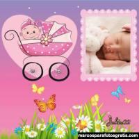Marcos para fotos de Bienvenido Bebé