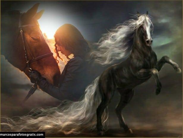 mejores marcos con caballos para crear gratis