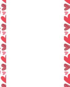 margen-hoja-corazon-rojos