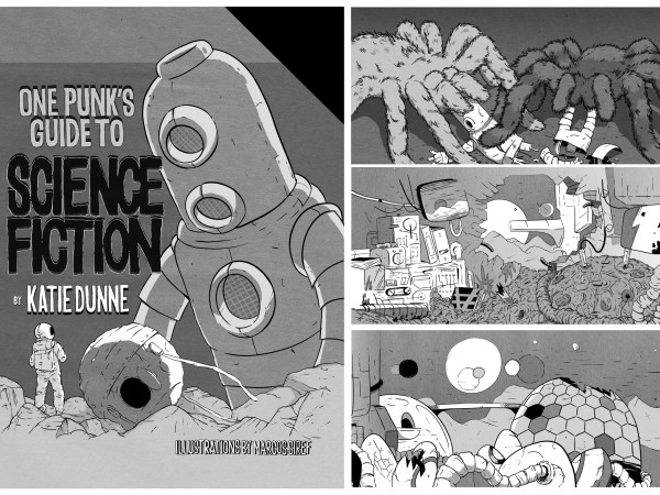 <span>One Punk's Guide to Science Fiction</span><i>→</i>
