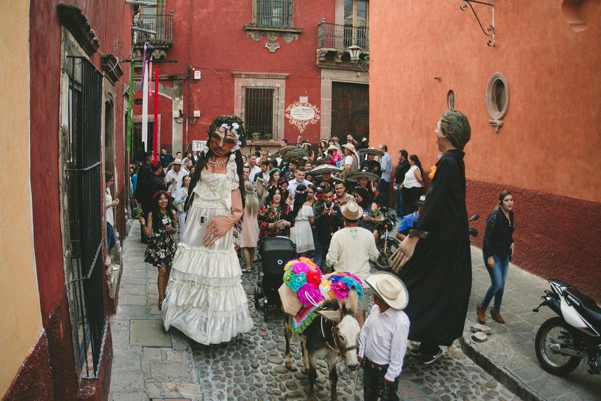 Callejoneada at San Miuel de Allende, marcosvaldés FOTÓGRAFO®