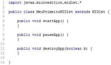 MIDlet: Introdução ao J2ME (3/5)