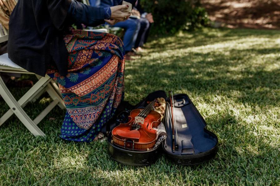 violino da violinista Bridget Marsden