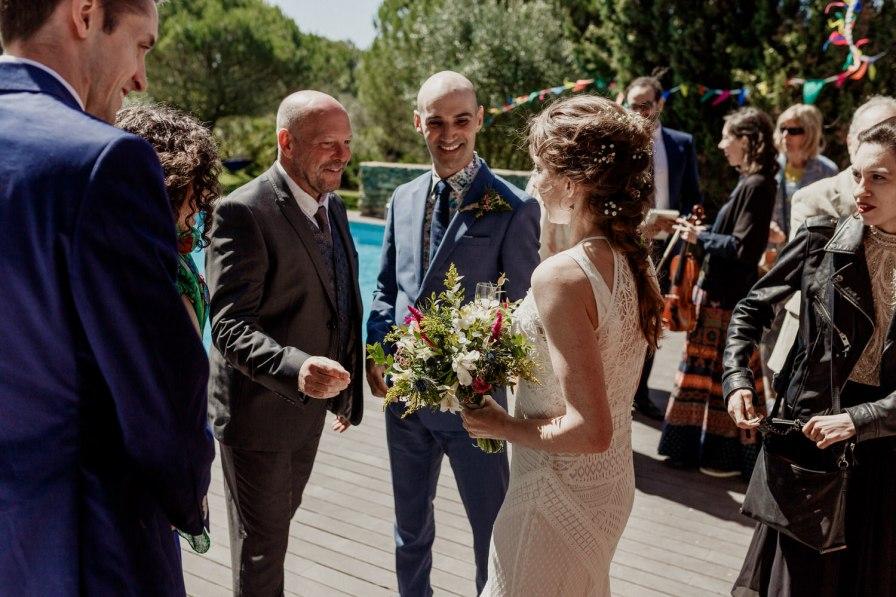 sorrisos em dia de casamento
