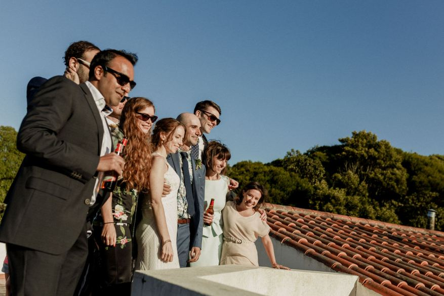 convidados de casamento inglês em destination wedding em Sintra