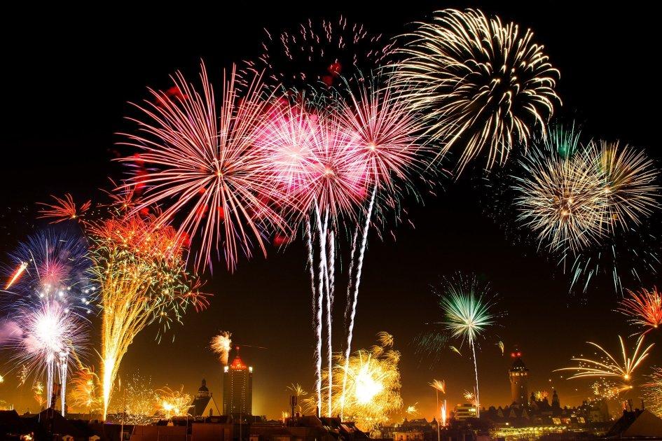 Dal Canada fuochi d'artificio silenziosi