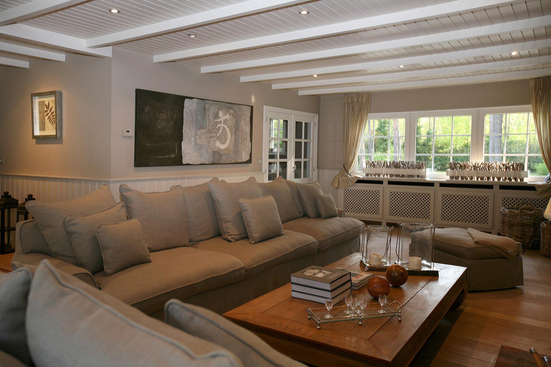 Landelijke Woonkamers Marcotte Style – Huis Design Interieur