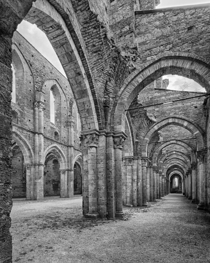 The Abby of San Galgano, Chiusdino, Italy