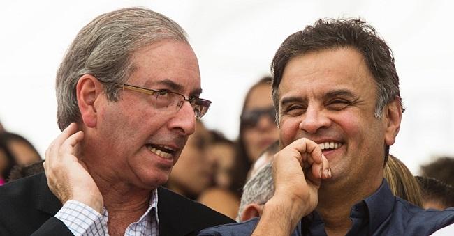 Eduardo Cunha, na Câmara, e Aécio Neves, no Senado, trabalharam incansavelmente para inviabilizar os projetos e a governabilidade da gestão Dilma Roussef no Congresso Nacional.