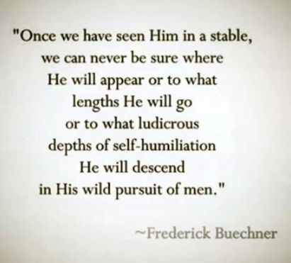 Frederick Beuchner on God's astounding love