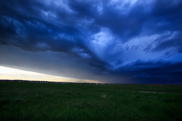 01 June 2015: during a storm chasing trip to the Plains.