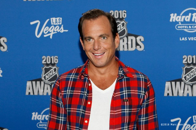 2016 June 22: Actor Will Arnett poses for a photograph on the red carpet during the 2016 NHL Awards at the Hard Rock Hotel and Casino in Las Vegas, Nevada. (Photo by Marc Sanchez/Icon Sportswire)