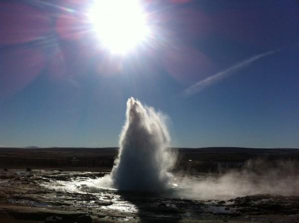 2 IJsland geiser
