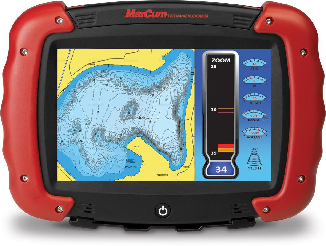 The RT-9 2.0 Ice Fishing Flasher is Customizable