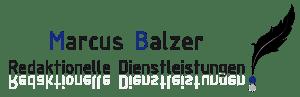 Logo Marcus Balzer Redaktionelle Dienstleistungen